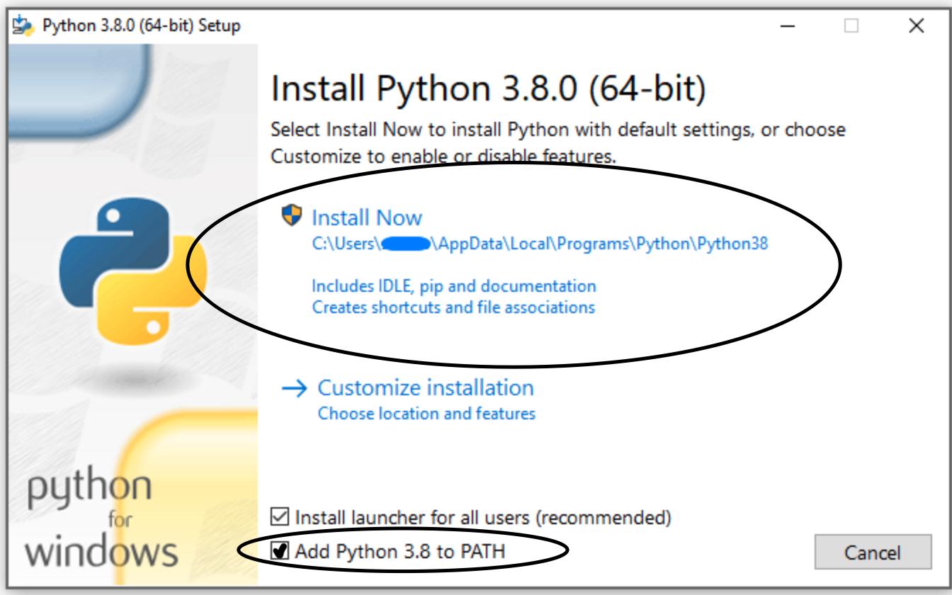 Cómo Instalar Python para Ciencia de Datos (casillas)